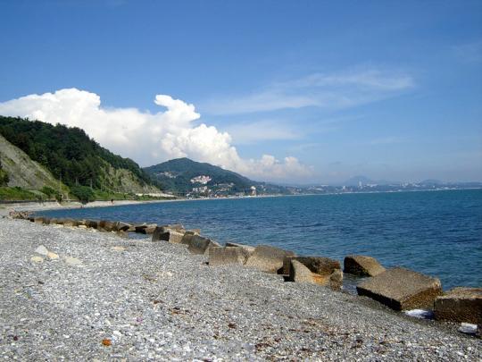В азовском море в адлере или можно в