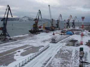 порт Магадан